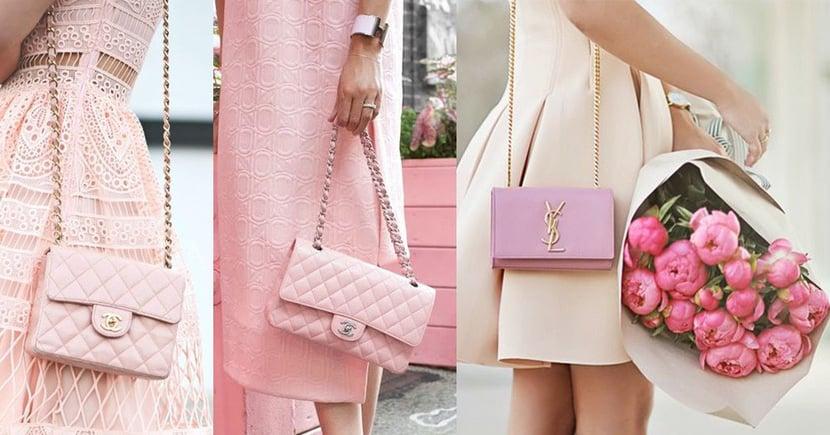 讓情人節的浪漫一直延續,甜美女生必備的粉紅色手袋(一)