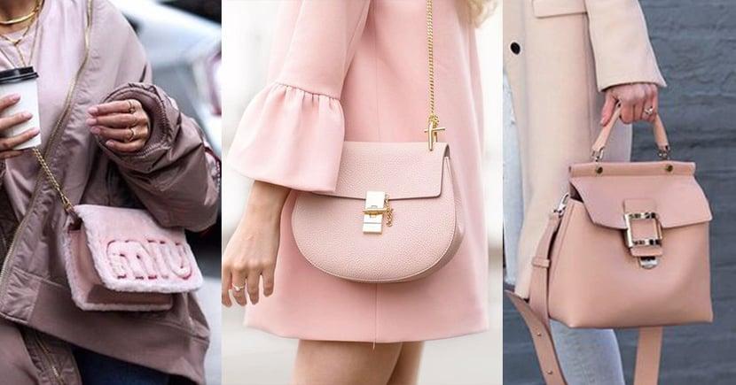 讓情人節的浪漫一直延續,甜美女生必備的粉紅色手袋(二)