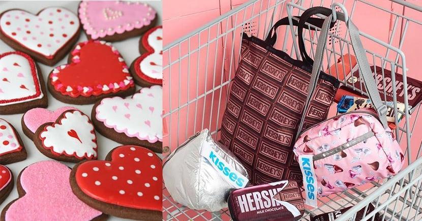 LeSportsac與巧克力品牌Hershey's打造情人節最甜蜜的聯乘!