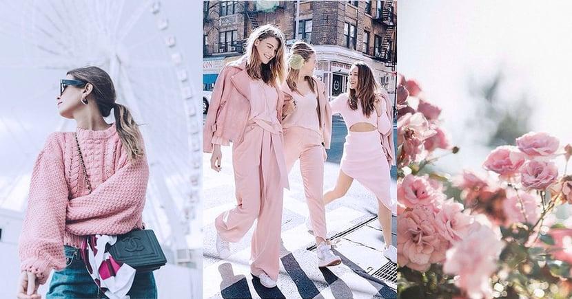 浪漫季節:不如用溫暖浪漫的粉紅色來迎接情人節吧!