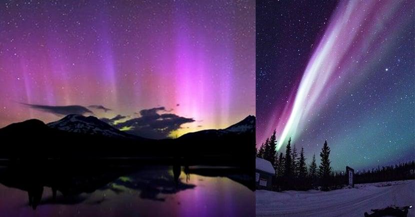 NASA證實發現全新紫色極光!看來大家的旅行清單又要添加一個新地方了!