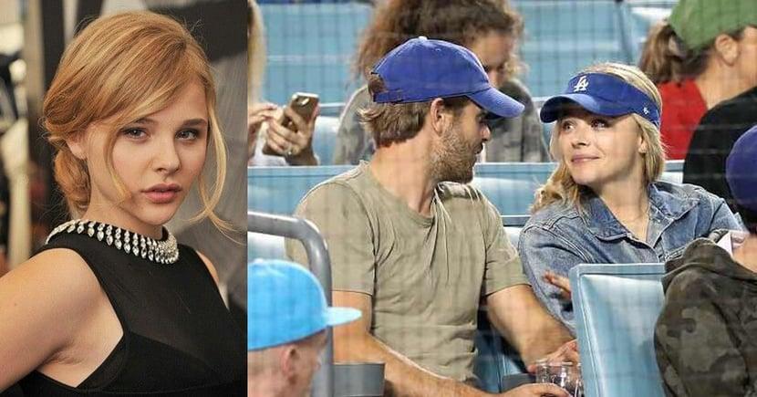 「離開你以後,我過得更好」第三者事件後,Chloe Moretz被拍到跟神秘型男約會看球賽!