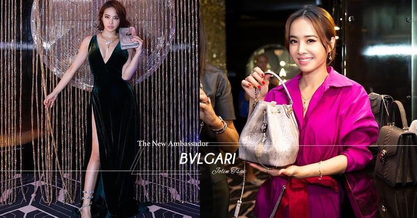 蔡依林性感霸氣登上BVLGARI大中華區品牌代言人寶座!