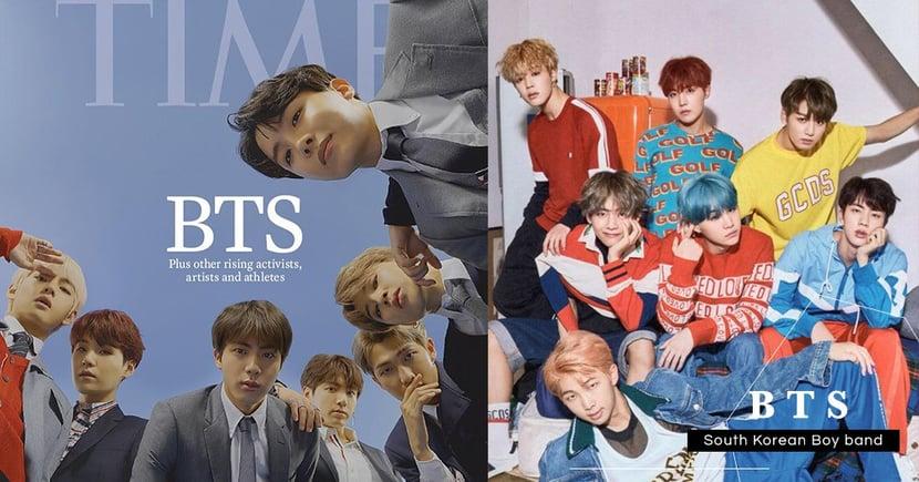 「史上最強組合」韓國天團BTS防彈少年團首登《TIME》時代雜誌全球封面!