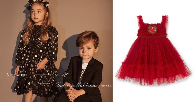 詢問度極高!Dolce&Gabbana 超萌童裝在Net-A-Porter火速搶購一空?