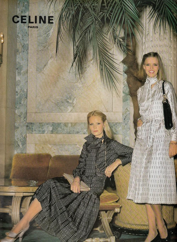 誰敢說Hedi Slimane鄙視品牌歷史?CELINE回歸七十年代的經典風格!