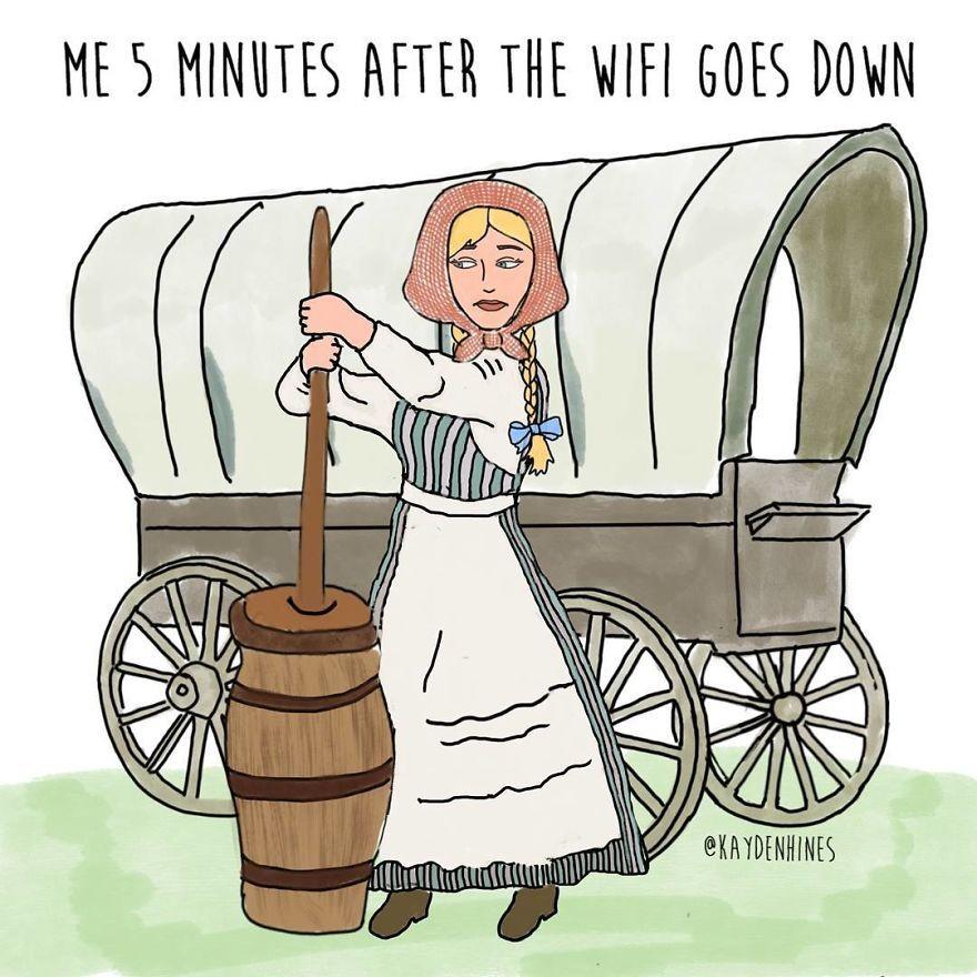 「5分鐘沒有網絡的生活如同回到遠古時代。」10個現代人的生活寫照1