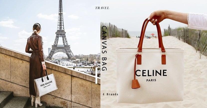 【迷你袋剋星】4大品牌都推出帆布袋,全部都是容量大又好配搭的手袋!