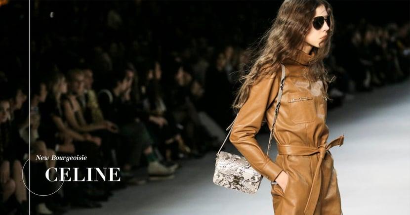 【CELINE】70年代的時尚魅力!Hedi Slimane執掌如何令品牌重現「Bourgeoisie」的形象?