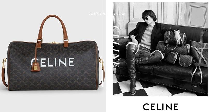 以經典元素向昔日致敬:CELINE全新系列 矚目凱旋門標記成Hedi Slimane核心情懷