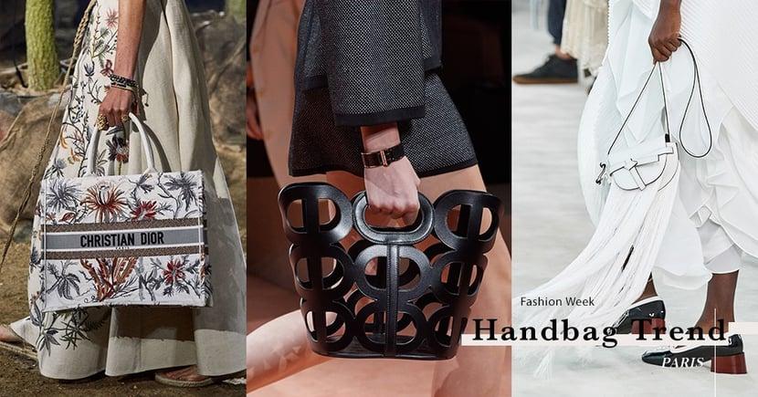 【巴黎時裝週】手袋控要注意!從時裝週上窺探來年春夏手袋潮流
