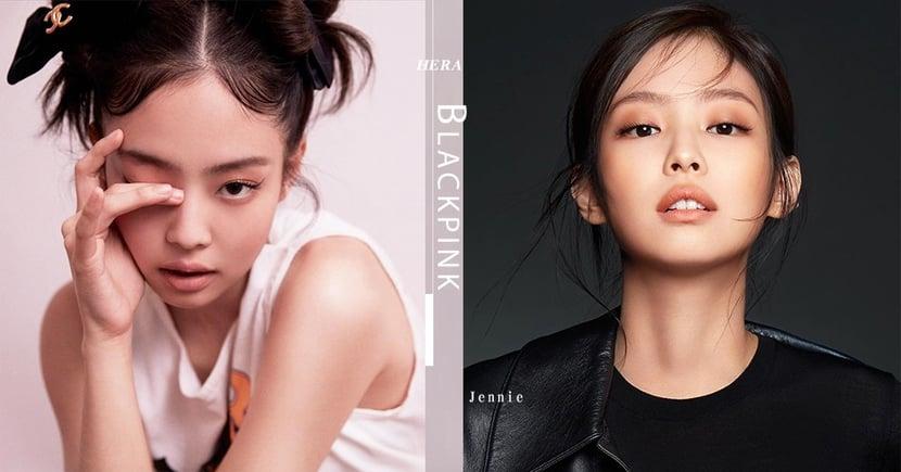天生擁有擁有攝人的魅力!BLACKPINK Jennie為韓國美妝品牌拍攝新廣告照