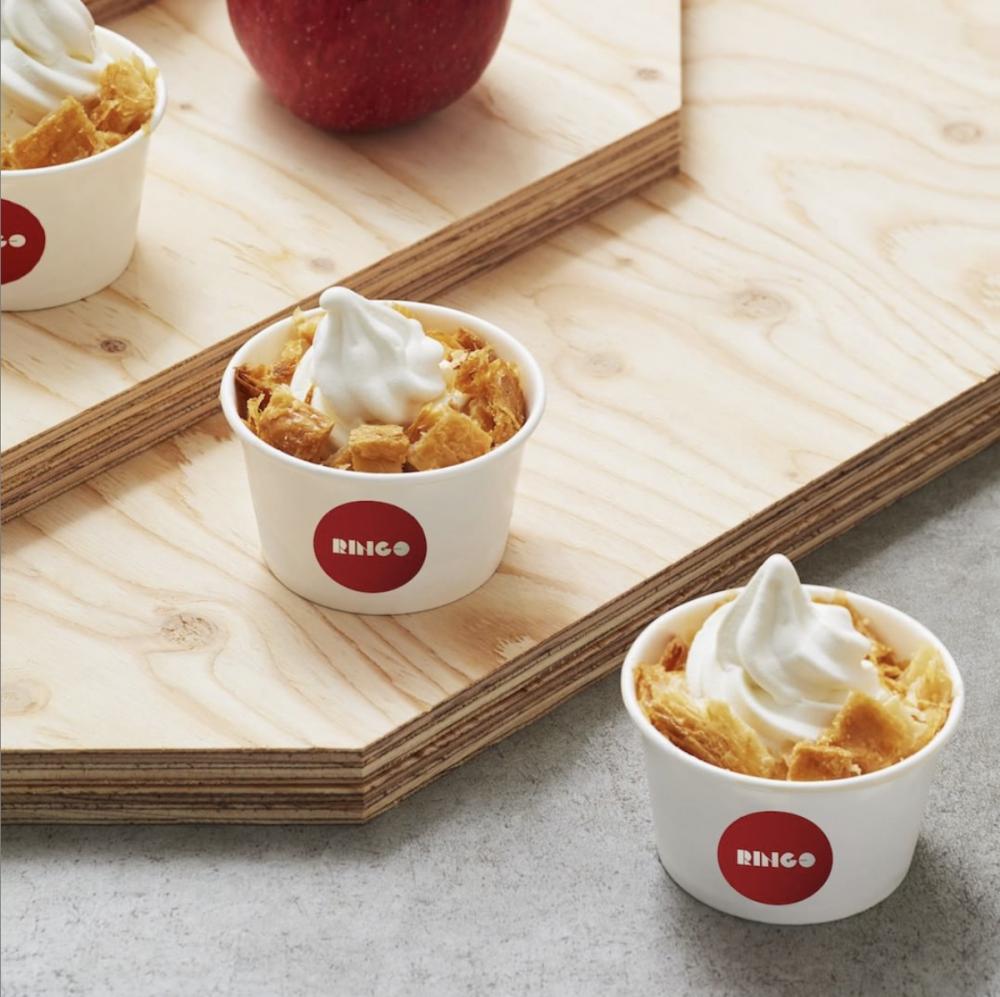 日本人氣蘋果批RINGO首次來港!青森蘋果配北海道牛奶,現場烤焗144層鬆脆酥皮