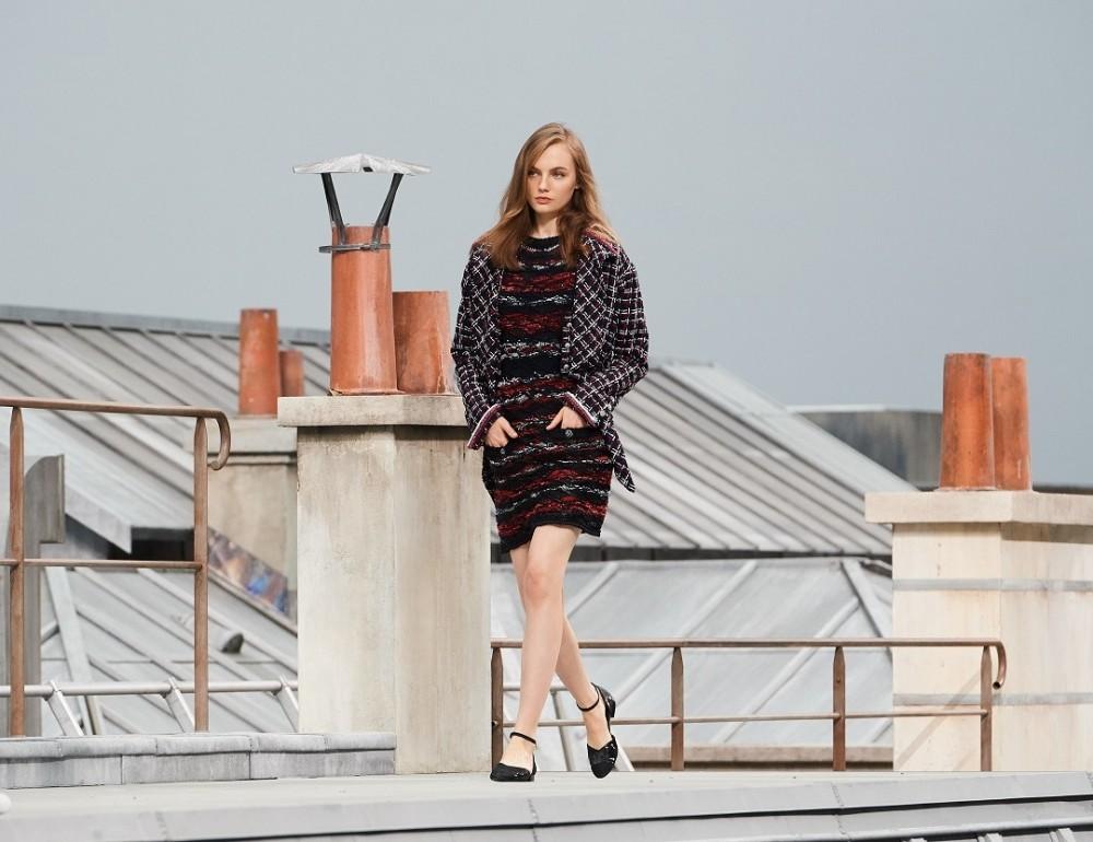 【巴黎時裝週】CHANEL的La Nouvelle Vague!Virginie Viard俯瞰巴黎迷人的風景!
