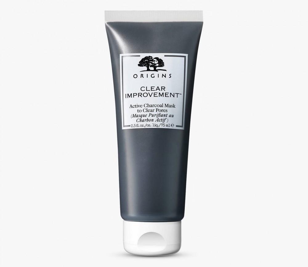 Clear Improvement Active Charcoal Mask To Clear Pores活性碳成份如磁石般將閉塞毛孔的雜質污垢吸出,減少暗瘡,酒米及黑頭形成