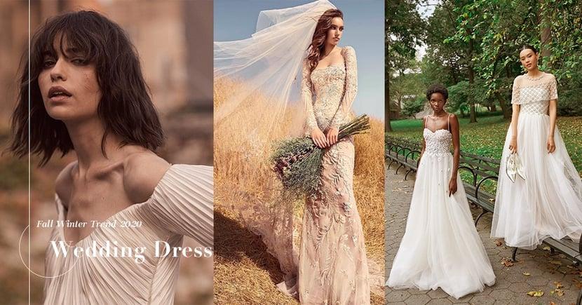 【2020秋冬嫁衣系列】準新娘必看來年婚紗趨勢,這幾個品牌為你打造完美浪漫嫁衣!