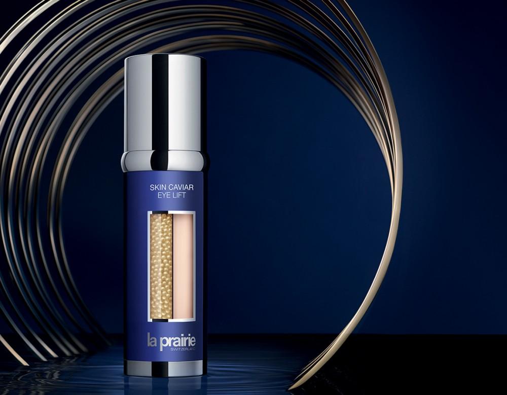 Skin Caviar系列更是首款以珍珠膠囊盛載著魚子精華而製成的護膚品