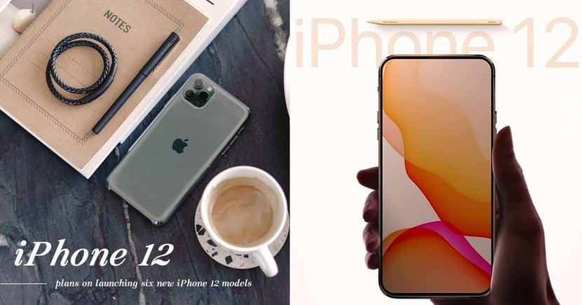 【iPhone 12】消息稱APPLE將於2020年推出6款型號 部份更會加入5G規格!