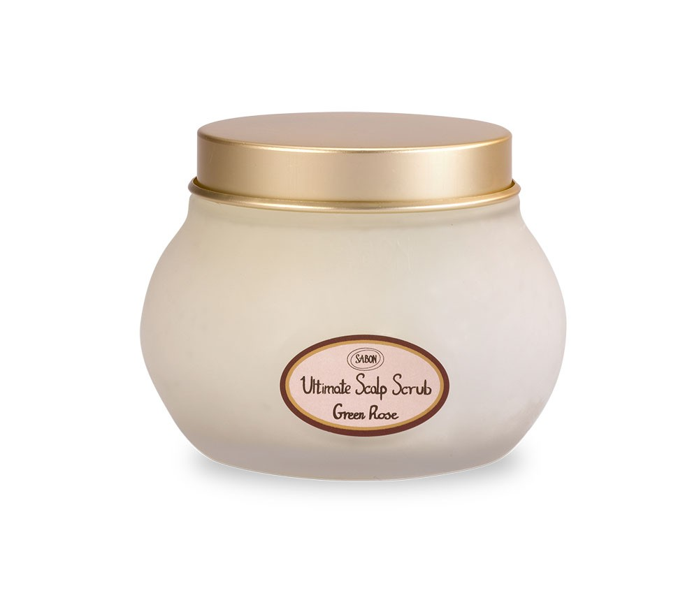 SABON Ultimate Scalp Scrub  green rose
