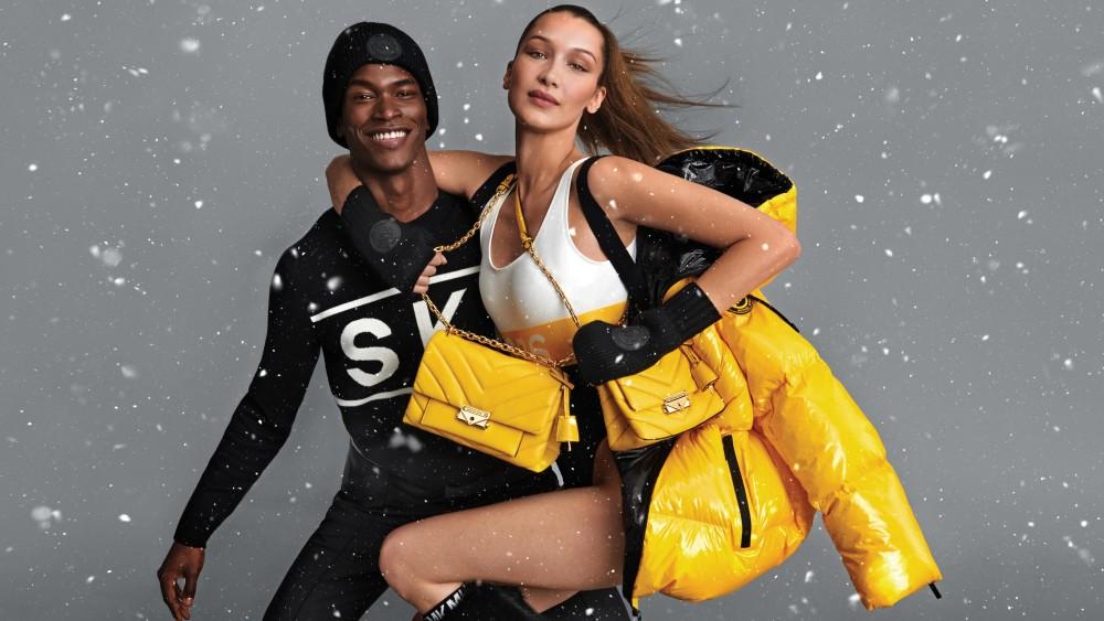 Michael Kors和Bella Hadid的私密之旅!超級模特兒親自演繹華麗精緻的雪地旅行造型!