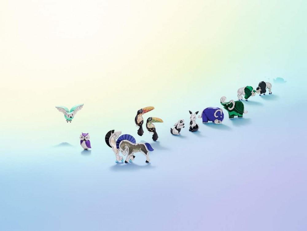 Van Cleef & Arpels的動物王國!Lucky Animals®系列的前世今生!