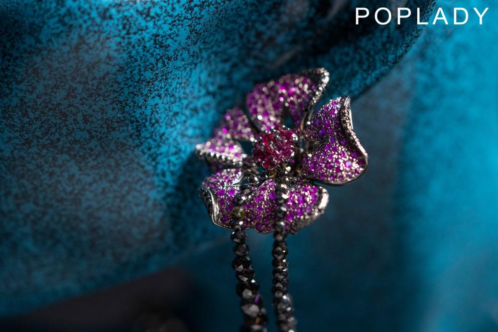 【編輯精選】Chopard的奢華氣派!高級珠寶系列呈現花卉綻放之美!