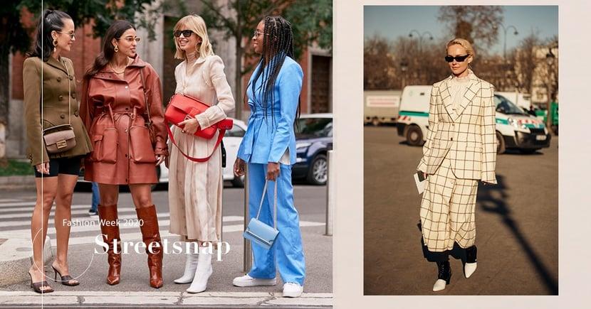 【時裝週街拍潮流】從街拍尋找配襯靈感 一眾潮人們都愛上這樣穿搭和配飾