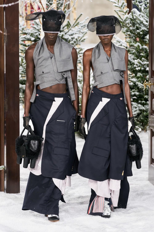 【巴黎時裝週】Thom Browne的諾亞方舟!雌雄莫辨的末日時尚啟示!