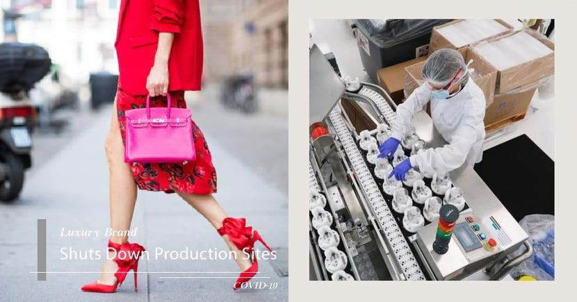 奢侈品牌 Hermès 、CHANEL、Gucci 暫停工廠運作 轉為製造抗疫用品!