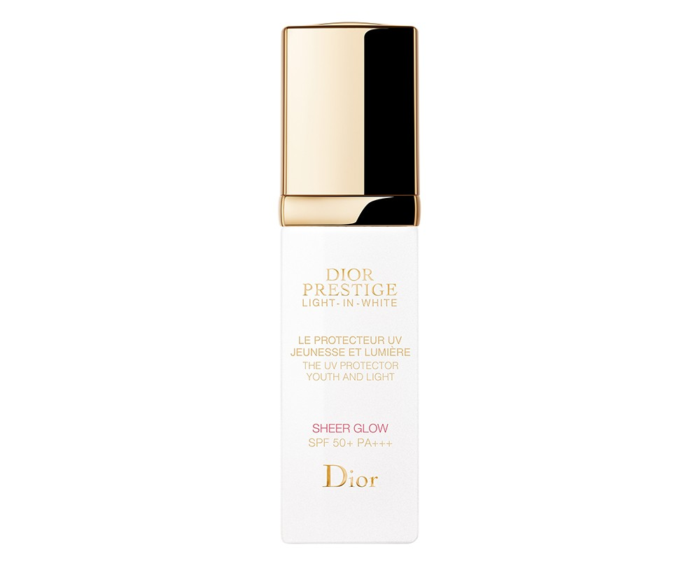 DIORrestige Light-in-White The UV Protector Youth and Light Sheer Glow 玫瑰花蜜純白煥光全效防曬乳液SPF50+ PA+++