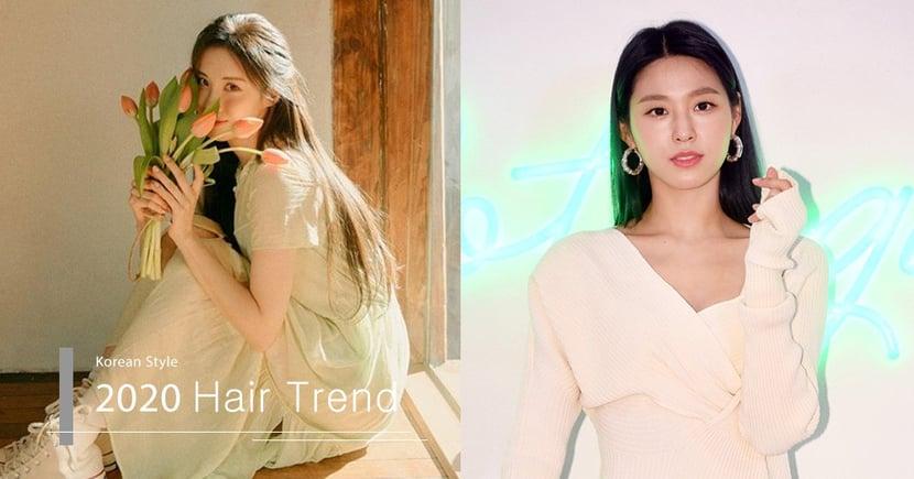 【2020春夏髮型】簡單長髮都可變女神!雪炫徐玄都在用的圈圈耳環配搭髮型技巧