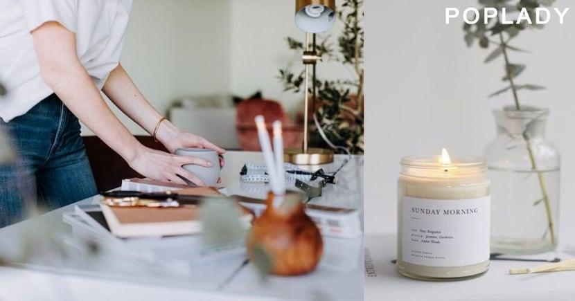 【在家辦公】心態決定境界:運用氣味控制心情和提升Stay At Home的工作效率?