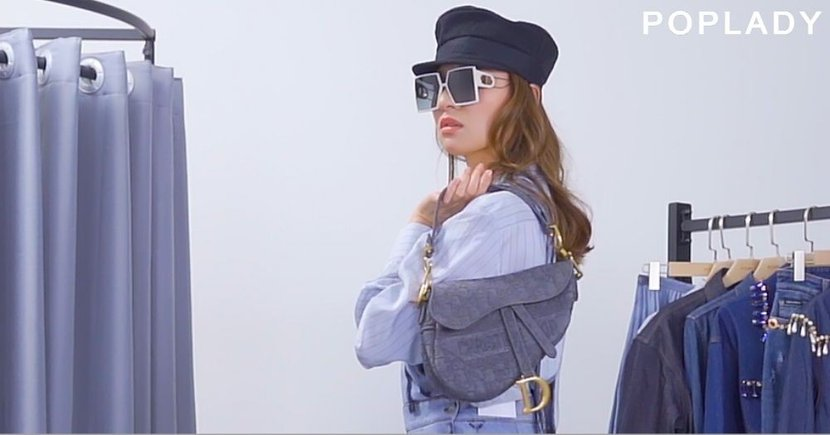 【POPSTYLE】春夏高貴的丹寧魅力?POPLADY客席編輯的華麗丹寧造型!