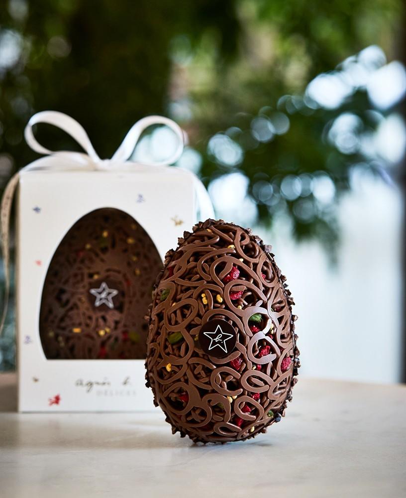 agnès b. DÉLICES Joyeuses Pâques giant chocolate egg朱古力復活蛋