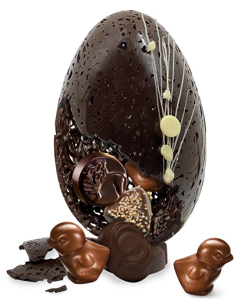 GODIVA 手工巧克力復活蛋
