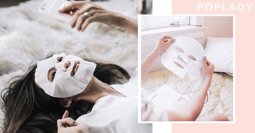 【面膜控】又忙又懶但又想有好皮膚?敷面膜就你的護膚捷徑!