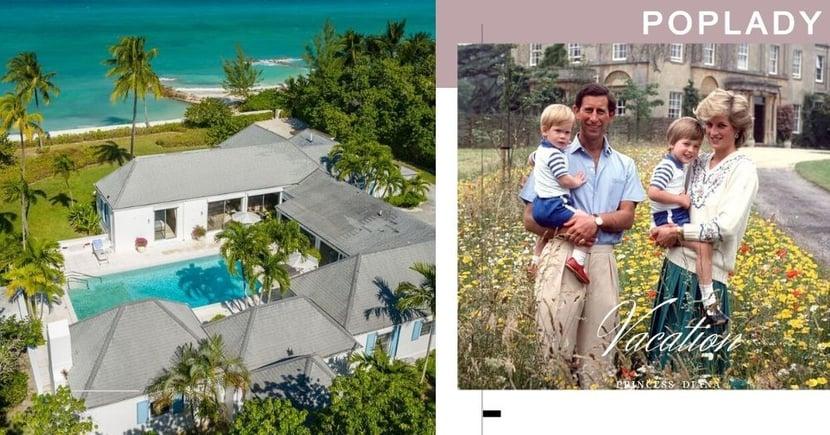戴安娜王妃生前別墅放售!接近1億的豪華度假別墅連私人海灘