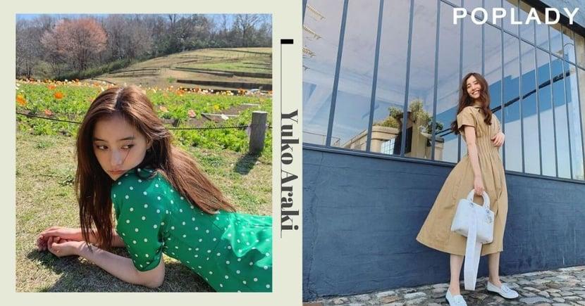 【夏日上班穿搭】日本新一代女神新木優子的「微成人感」日系穿搭