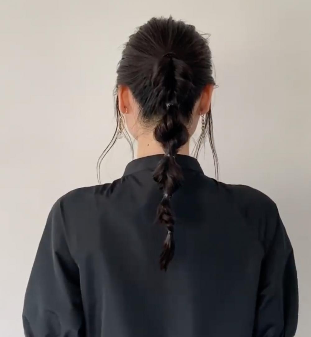 【日系編髮】3分鐘簡單型格丸子辮16