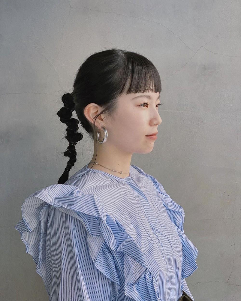 【日系編髮】3分鐘簡單型格丸子辮2