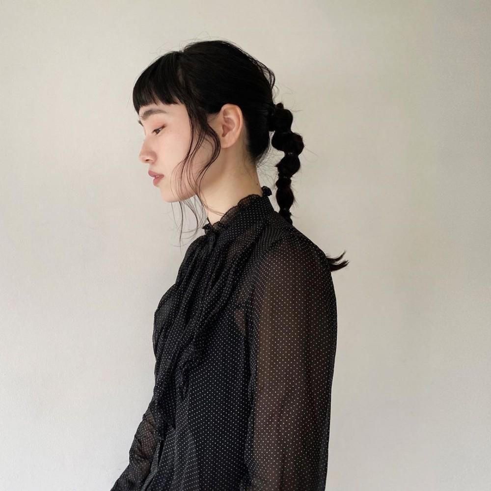 【日系編髮】3分鐘簡單型格丸子辮5