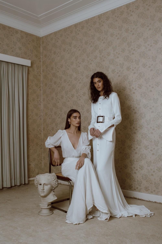 【最簡潔的嫁衣裳】新時代女性 7個時尚界熱捧的婚紗品牌