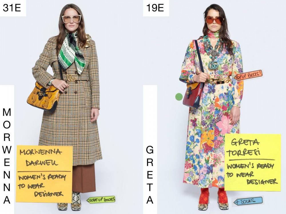 【Gucci Resort2021】員工擔任模特兒上陣 多啦A夢壓軸登場