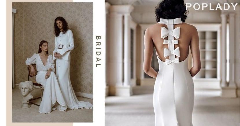 【最優雅的嫁衣裳】新時代女性 7個時尚界熱捧的婚紗品牌