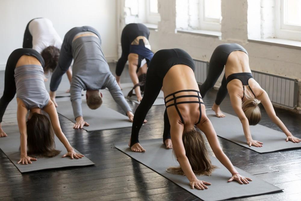 靠這招瑜伽每天1分鐘2