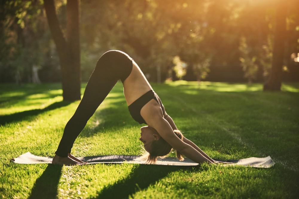 靠這招瑜伽每天1分鐘3