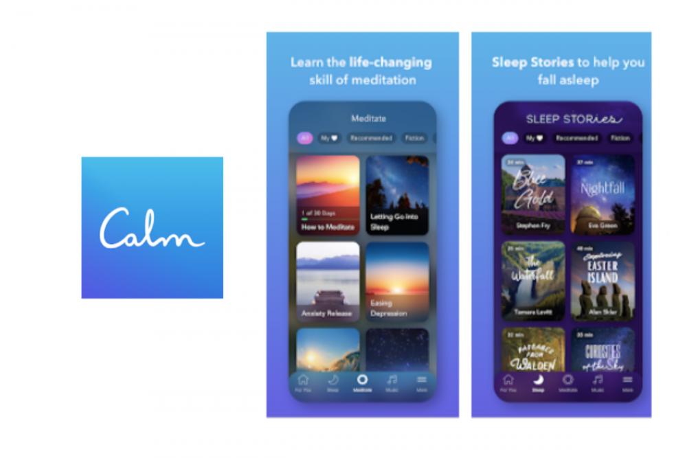5個紓解壓力的手機App