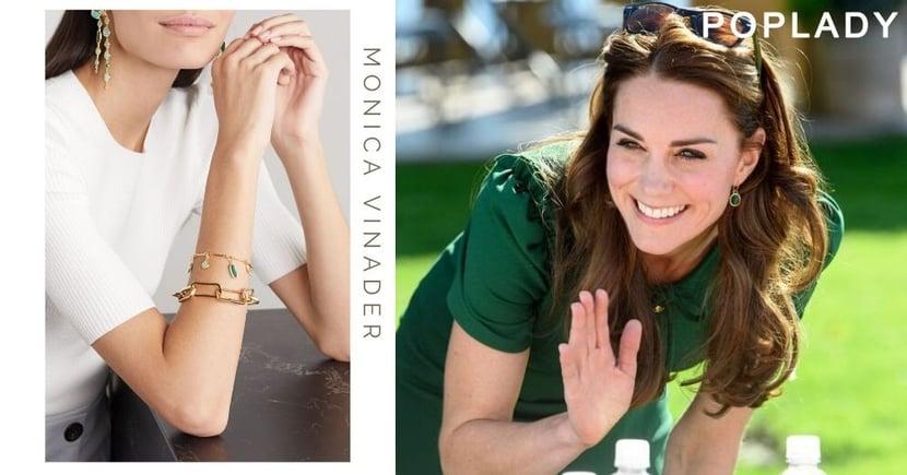 跟凱特王妃戴Monica Vinader 瞬即令你氣質感up!