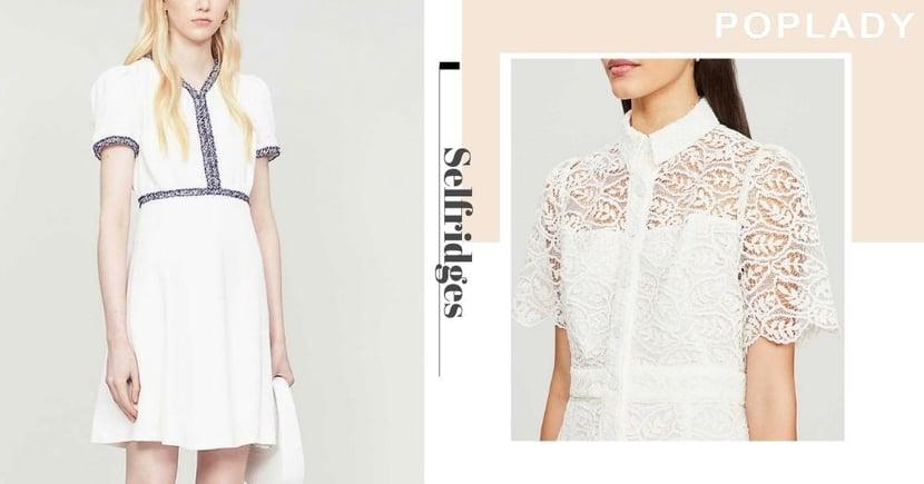 【網購優惠】法式優雅連身裙款Selfridges減至半價