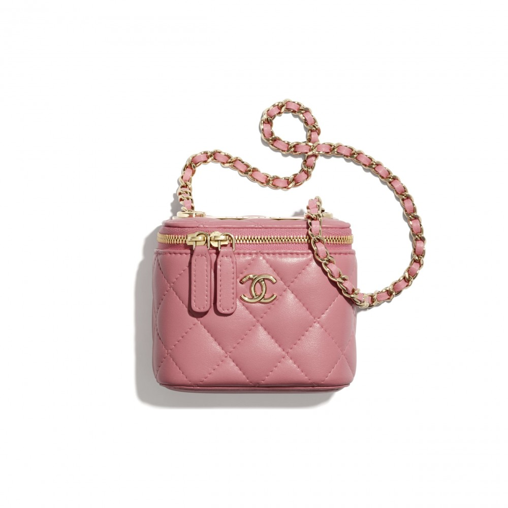 Chanel mini vanity with chain HKD 12,800